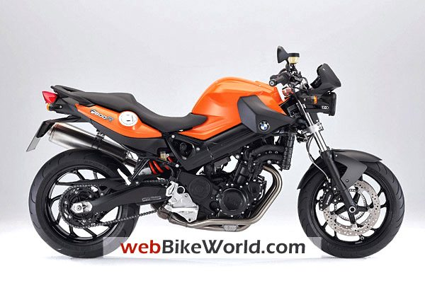 BMW F800R - Orange Color, Right Side