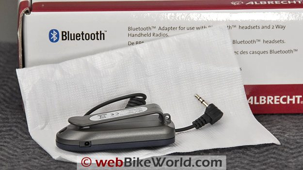 Albrecht BPA 100 Bluetooth Adapter - Rear