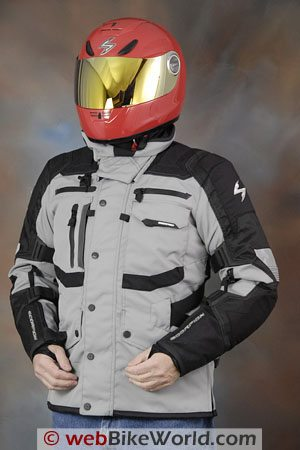 Scorpion XDR Commander Jacket - Front View