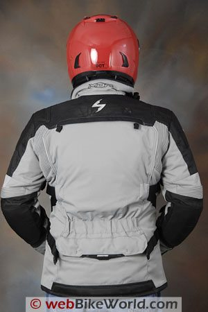 Scorpion XDR Commander Jacket - Rear View