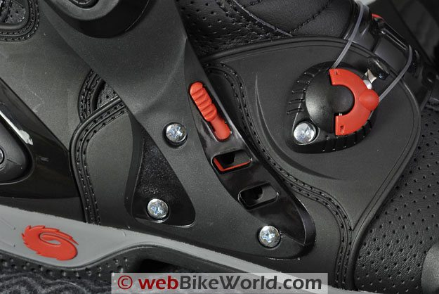 Sidi Vortice Boots - Side Air Vents