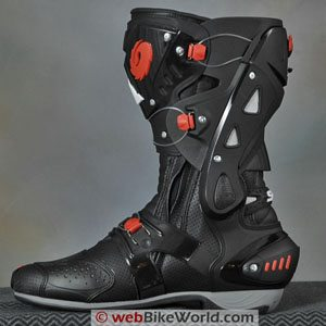 Sidi Vortice Boots - Inside