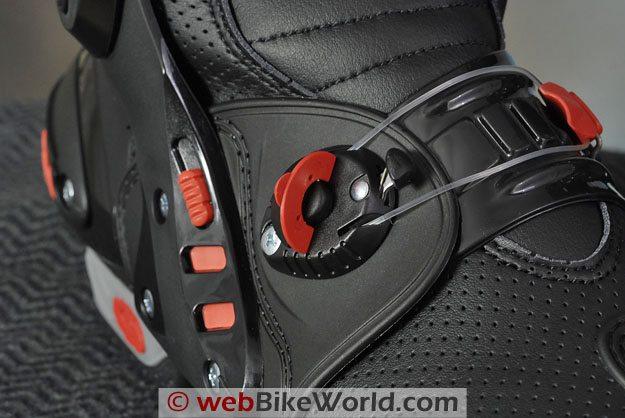Sidi Vortice Boots - Tecno Instep Tensioner Adjustment System