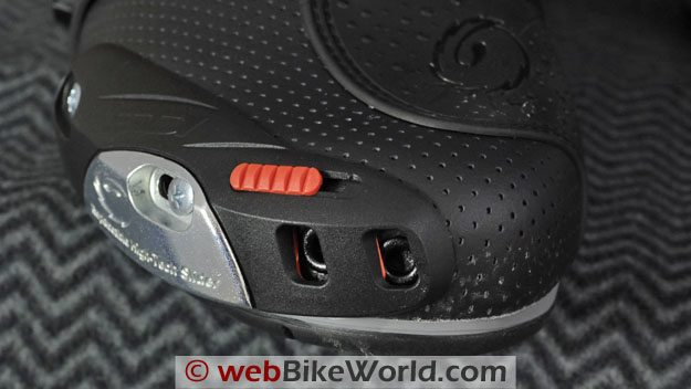 Sidi Vortice Boots - Toe Air Vents
