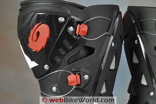 Sidi Vortice Boots - Tecno Calf Tensioner Adjustment System