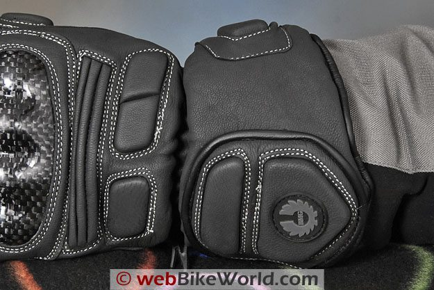 BMG Thermosport Winter Motorcycle Gloves - Gauntlet