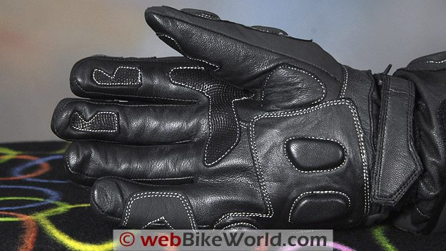 BMG Thermosport Winter Motorcycle Gloves - Palm