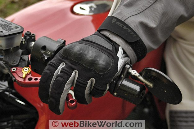 REV'IT! Tempest H2O Gloves - On Bike