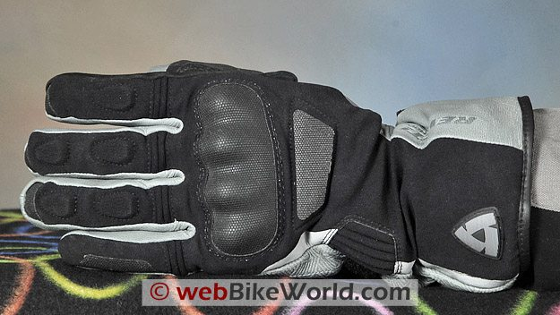 REV'IT! Tempest H2O Gloves - Back Side View