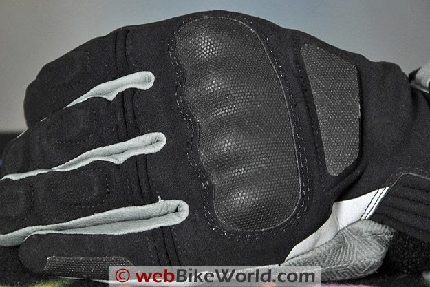 REV'IT! Tempest H2O Gloves - Knuckle Protector