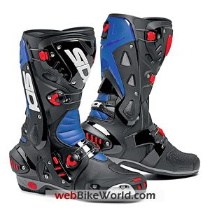 Sidi Vortice Boots - Blue and Black