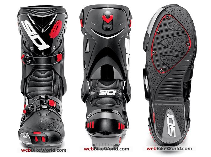 Sidi Vortice Boots Three Views