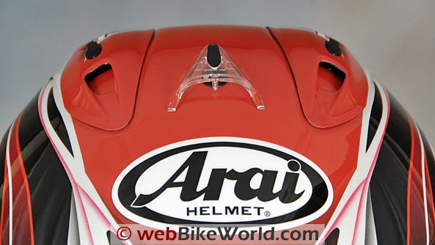 Arai Corsair V Top Vents