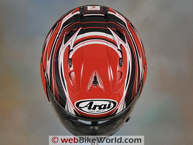 Arai Corsair V Top View