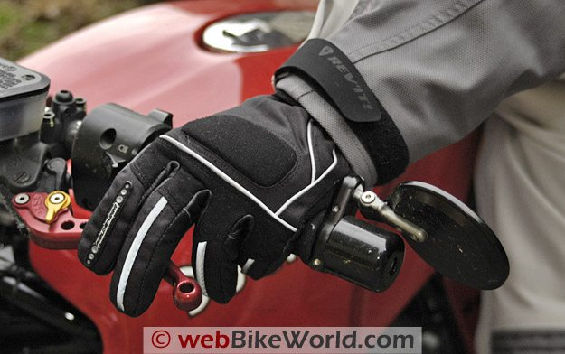 Fieldsheer Aqua Sport Gloves - On the Bike, Guantlet Under Jacket Sleeve