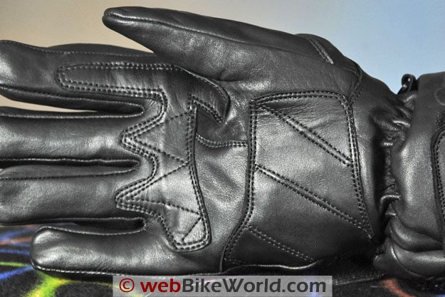 Firstgear Carbon Heated Gloves - Palm Close-up