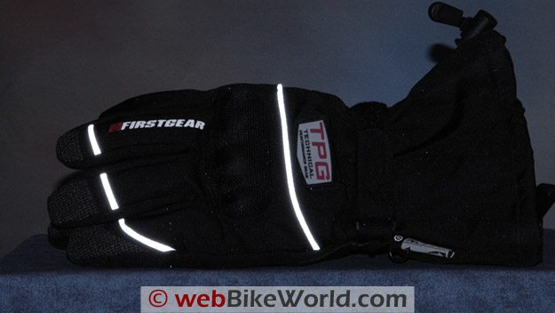 Firstgear Tundra Gloves - Reflectivity