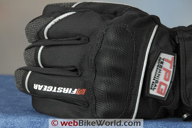 Firstgear Tundra Gloves - Back of Hand