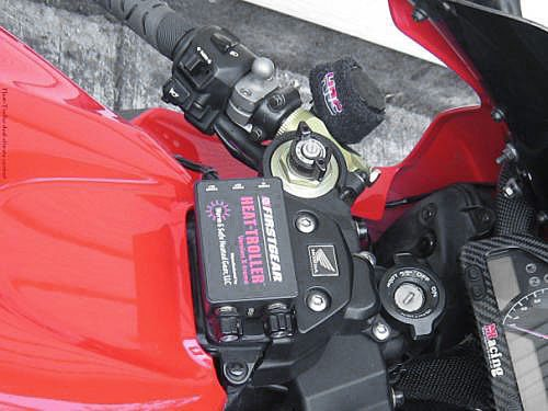 Heat-Troller on Honda CBR