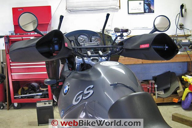 Hippo Hands on BMW R1150GS