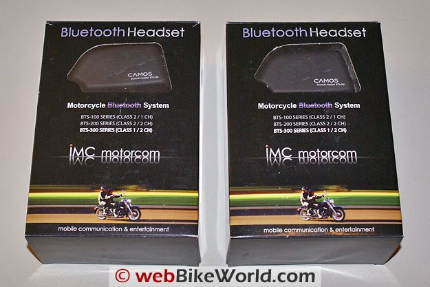IMC Camos BTS 300 Intercom - Packaging