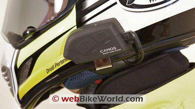 IMC Camos BTS 300 Intercom - Helmet Mount
