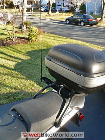 Jensen Motorcycle Radio Antenna