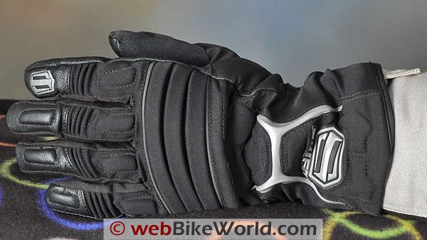 SHIFT Torrent SS Waterproof Motorcycle Gloves - Top