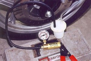 Actron brake bleeding kit