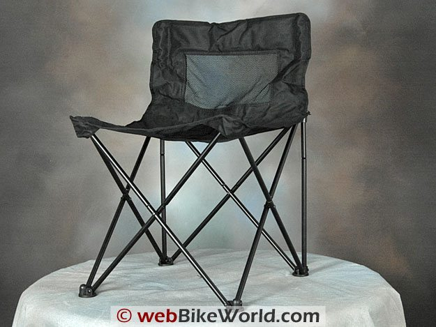 Blue Max Folding Chair Assembled