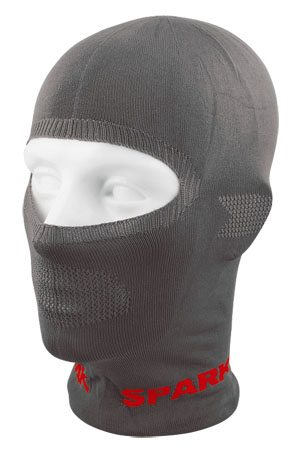 "Spark ""Ci-Co"" seamless Balaclava (in gray)."