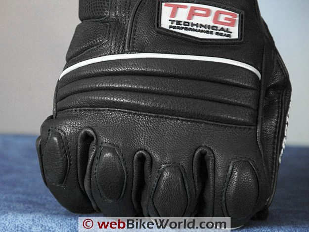 Firstgear Glacier Gloves - Back of Hand Close-up