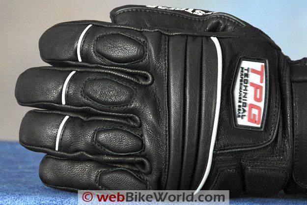 Firstgear Glacier Gloves - Back of Fingers