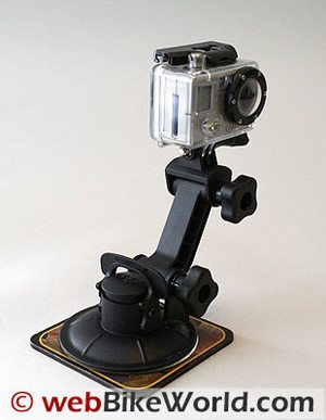 GoPro Wide Camera on Suction Cup Mount