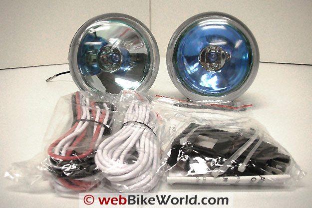 Platinum Burner Motorcycle Driving Light Kit