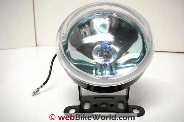 Platinum Burner Motorcycle Driving Light Close-up
