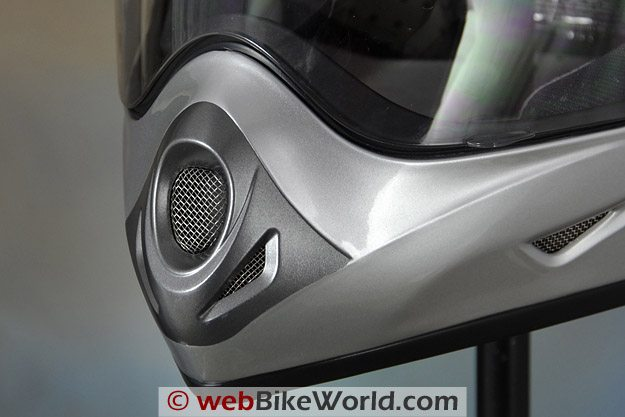 AFX FX-37 DS Helmet - Chin Vent