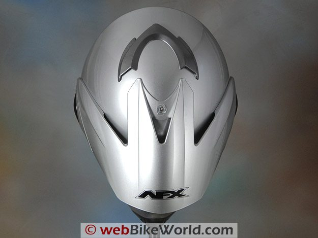 AFX FX-37 DS Helmet - Top View