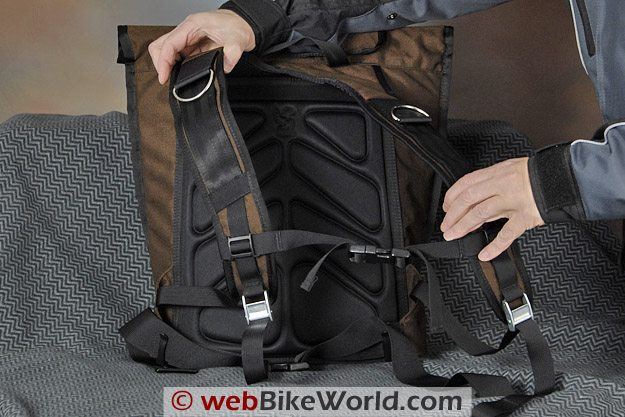 "Chrome ""Pawn"" Backpack - Shoulder Straps"