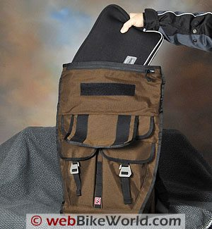 "Chrome ""Pawn"" Backpack Messenger Bag"