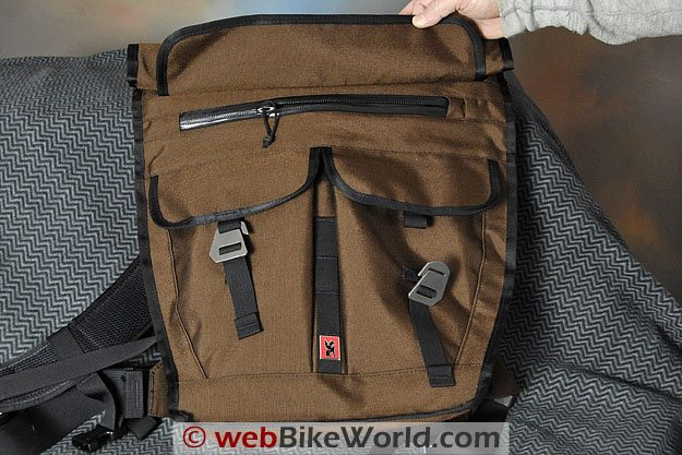 "Chrome ""Pawn"" Backpack Messenger Bag - Waterproof Pocket"