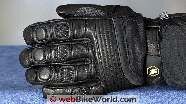 Gerbing's Hybrid Gloves - Back Side View