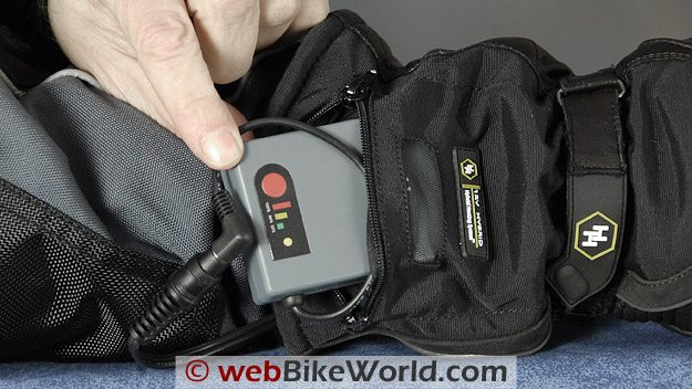 Gerbing's Hybrid Gloves - Battery Pack in Pocket