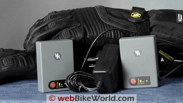 Gerbing's Hybrid Gloves - Battery Packs and Charger