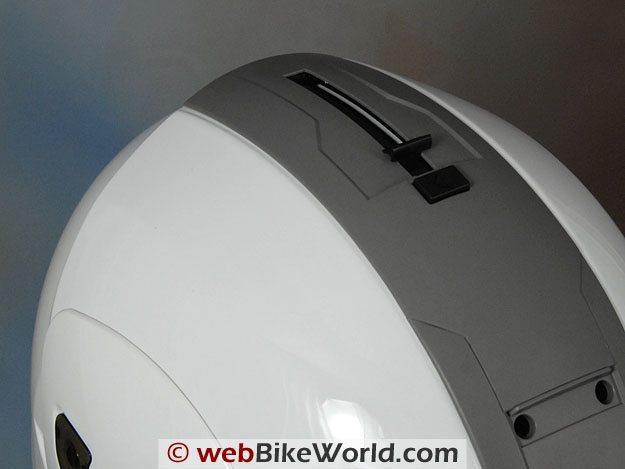 HJC IS-Max Internal Sun Visor Rotating Mechanism
