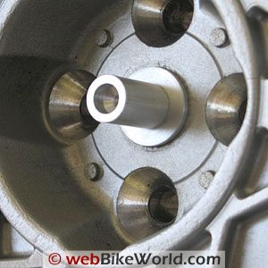 Hornig BMW Wheel Cover Attachment Close-up