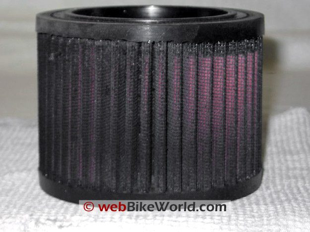 K&N Air Filter After 13,000 Miles