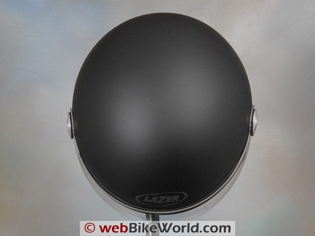 "Lazer ""Rider"" Superskin Helmet - Top View"