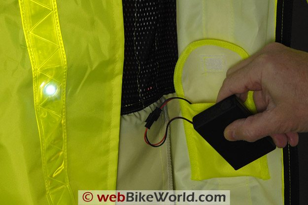 LEDwear LED Safety Jacket - Battery Pack