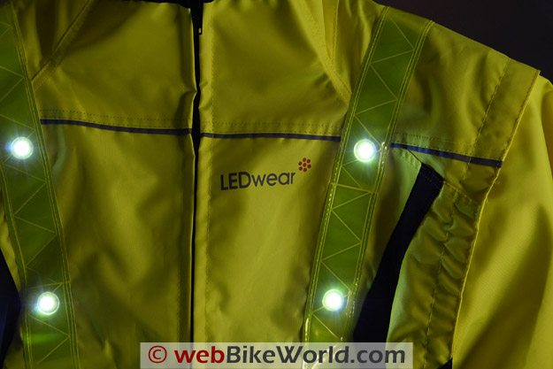 LEDwear LED Safety Jacket - Close-up